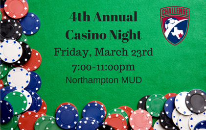 Buy Your Tickets to the 4th Annual Casino Night Fundraiser