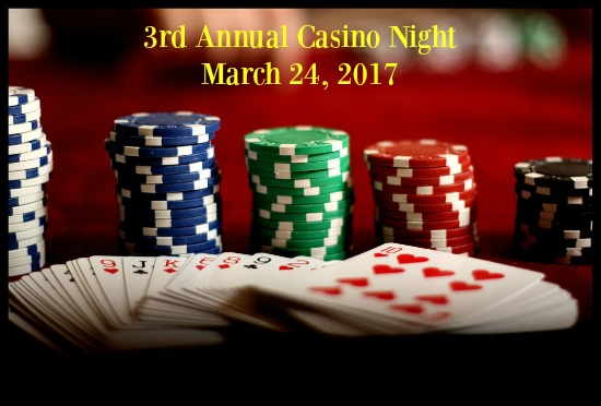 Casino Night Tickets On Sale Now