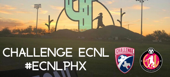 Challenge ECNL Finds Success at #ECNLPHX