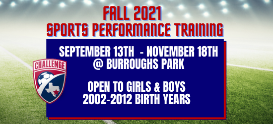 Registration Open for Fall Sports Performance Training