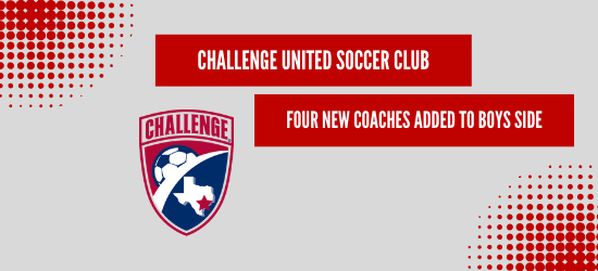 Challenge United Hires Four New Coaches