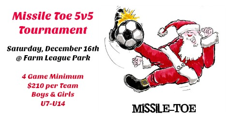 Missile Toe 5v5 Tournament ~ December 16th
