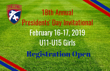 18th Annual Presidents' Day Invitational - Registration Open
