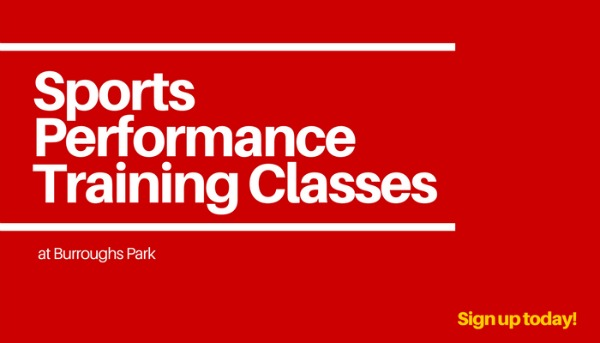 Registration Open for Sports Performance Training @ Burroughs Park