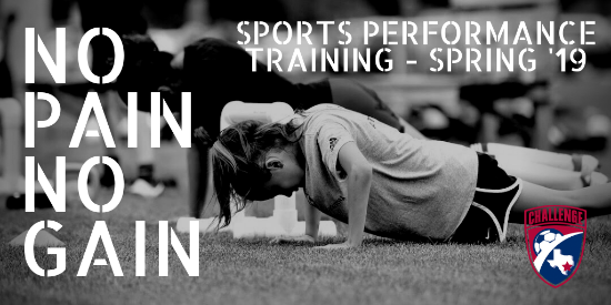 Registration Open for the Spring Sports Performance Training Classes