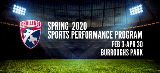 Registration Open for Spring 2020 Sports Performance Training