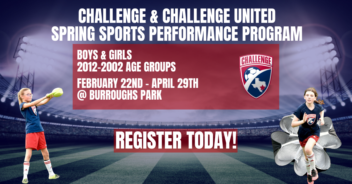 Registration Open for Spring Sports Performace Program
