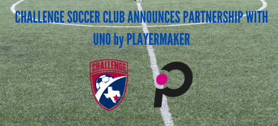 Challenge Announces Partnership With UNO by Playermaker