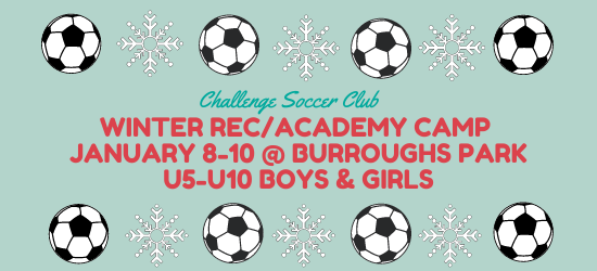 Registration for Winter Rec/Academy Camp Now Open
