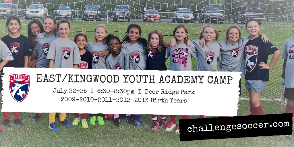 East/Kingwood Academy Camp