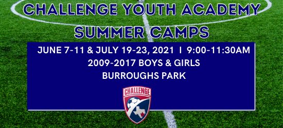 Summer 2021 Youth Academy Camps
