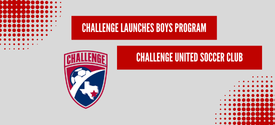 Challenge Soccer Club Launches Boys Program