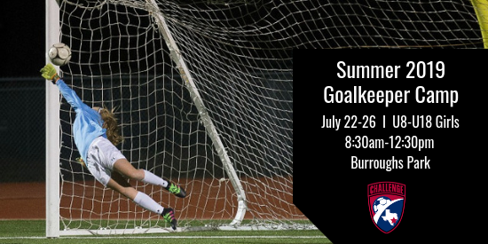 Summer Goalkeeper Camp Registration Now Open